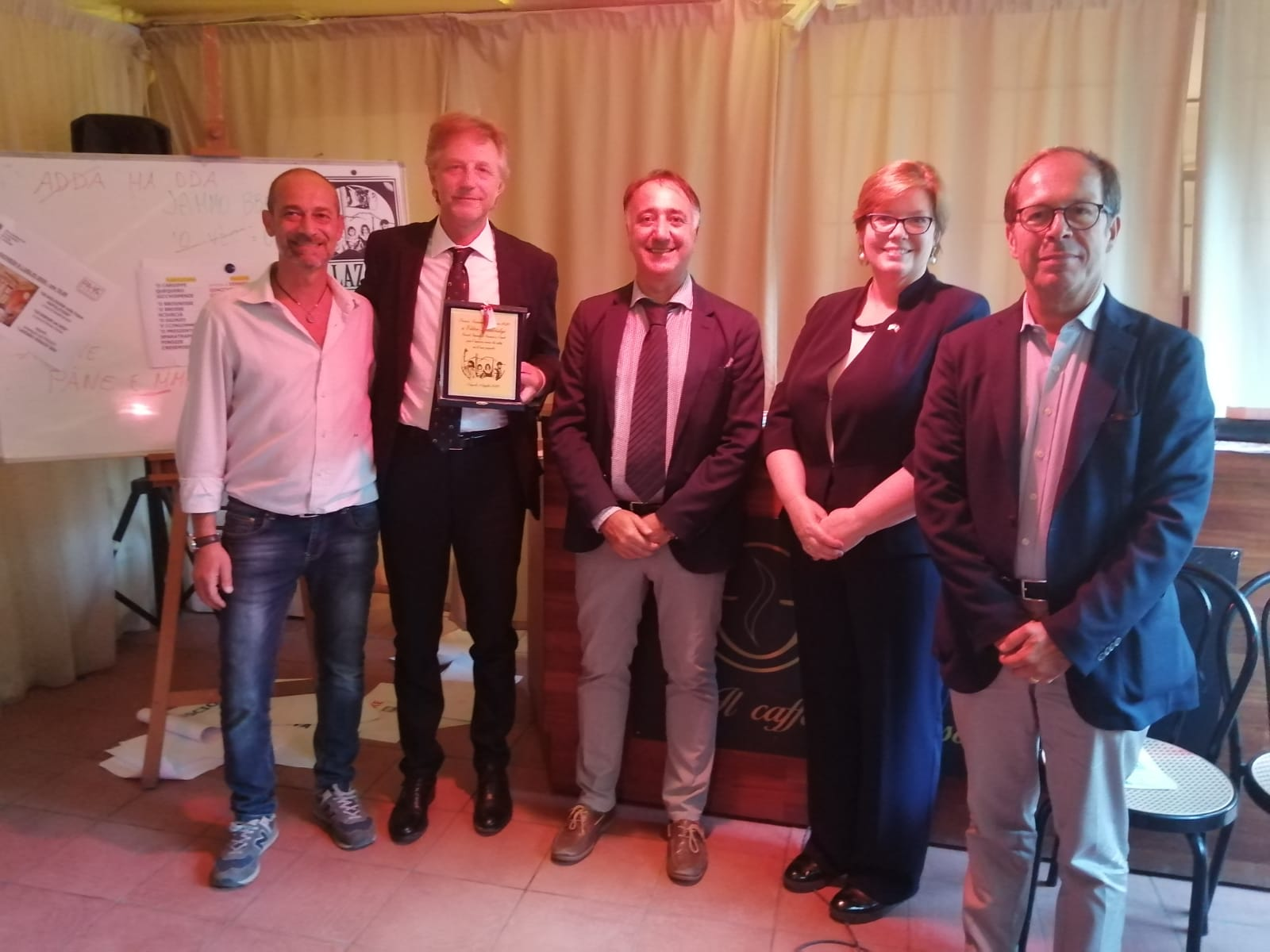 Dr. Viktor Hamotskyi, General Consul of Ukraine awarded with Lazzaro Verace Prize 2020.
