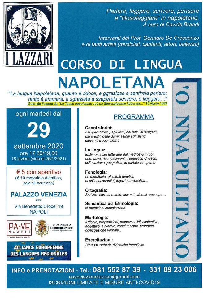 Associazione I Lazzari, Napoli.