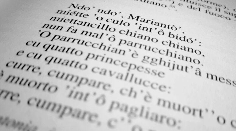Napulitanamente Neapolitan Language Course at Institut Francais Napoli, IT.
