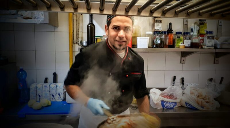 Chef Alessandro Consaudo. Between past and future.